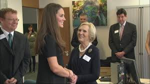 prince william and kate middleton meet bake off queen mary berry