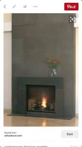 Concrete For Fireplace by Metal Surround For Fireplace Fireplace Pinterest Metals
