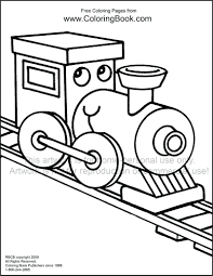coloring train eliolera