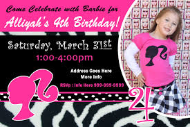 barbie birthday clipart 62