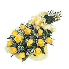 Roses Bouquet Buy Fresh Yellow Roses Bouquet Flower Online Best Prices In