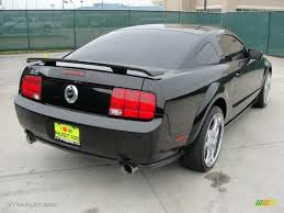 2005 Mustang Gt Black Black 2005 Ford Mustang Gt Premium Coupe Exterior Photo 46659398