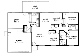 4 bedroom ranch style house plans ranch style house plans newport model hr110 a home floor