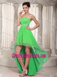quince dama dresses green high low damas dresses for quince for 2014