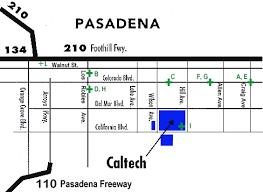 pasadena zip code map caltech pasadena area accomodations