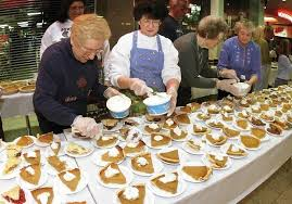 volunteers needed for thanksgiving dinner ask the times