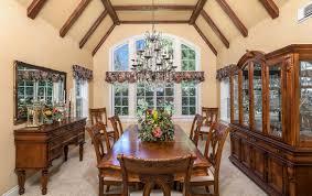 north shore dining room historic lakefront lake arrowhead real estate lynne b wilson