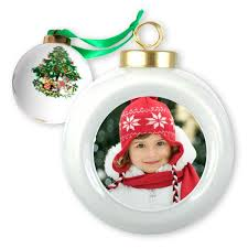 porcelain ornament with photo custom ornament mailpix