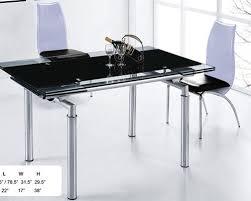 italian extendable dining table best black glass extending dining table elite dining sets with