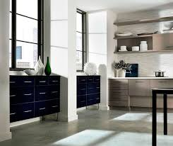 Acrylic Kitchen Cabinets With Melamine Accents Kitchen Craft - Kitchen cabinets melamine