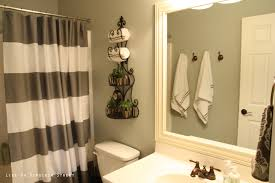 bathroom paint color ideas with pale blue wall and dark brown