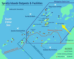 South China Sea On Map by Mischief Reef In South China Sea Business Insider