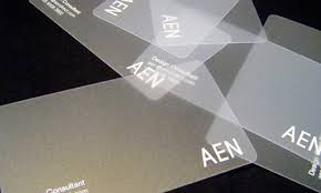 Translucent Plastic Business Cards Best Collection Of 15 Transparent Plastic Business Cards