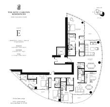 Ritz Carlton Toronto Floor Plans by Ritz Carlton Residences Sunny Isles Beach Condos For Saleluxo
