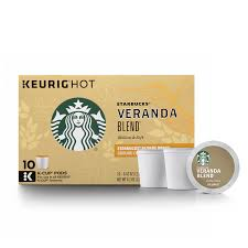 keurig k cups light roast starbucks veranda blend blonde light roast single cup coffee for