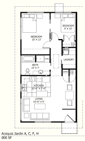 2 Bedroom Floor Plans by I Like This One Because There Is A Laundry Room 800 Sq Ft