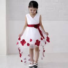 childrens wedding dresses ulass children s wedding dress princess skirt mopping winter