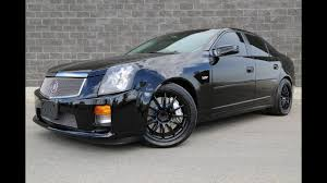 2005 cadillac cts v sedan 6 speed manual magnuson supercharged