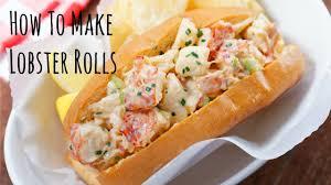 lobster roll recipe how to make lobster rolls recipe ロブスターロールの作り方