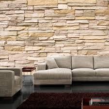 steinwand wohnzimmer beige ausgezeichnet 3d tapete stein bilder steinoptik reiquest 3d