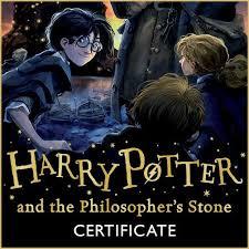 harry potter harry potter reading certificates harry potter