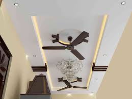 pop ceiling design for with 2 fans theteenline org