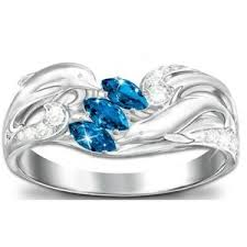 dolphin engagement ring dolphin ring polyvore