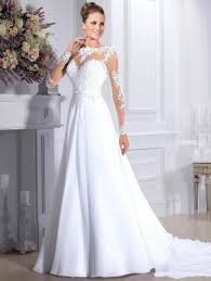 chapel wedding dresses wedding dresses sleeve chiffon illusion applique