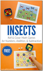 insects roll u0026 cover math games gift of curiosity