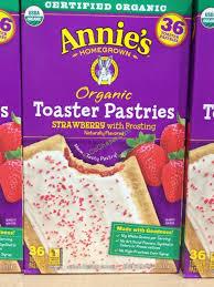 Toaster Costco Annie U0027s Organic Toaster Pastries 36 Count Box U2013 Costcochaser