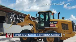 customer dies in recycling plant accident after possibly being hit