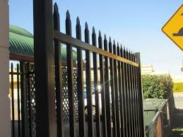 ornamental steel fence parts metal panel fencing systems gate