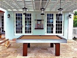 the south beach outdoor pool table u2013 robbies billiards