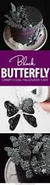 How To Make Halloween Cakes Black Butterfly Cake