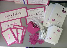 wishing tree cards inspired by script hot pink wedding stationery wishing tree tags