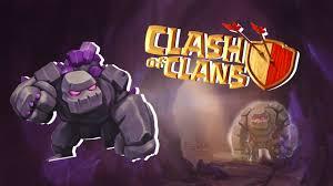 coc wallpaper clash of clans wallpaper golem top level wallpaper games
