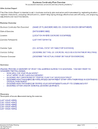 after event report template after report template template
