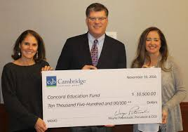 concord education fund thanks community news the concord