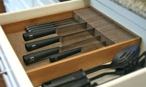 Self Sharpening Kitchen Knives by Kitchen Knives Drawer Organizer Kitchen Cabinet Knife Drawer