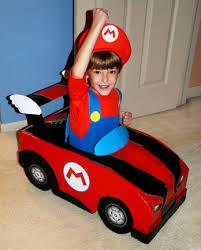 Baby Mario Halloween Costume Final Mario Kart Halloween Costume Diy Handmade Plain