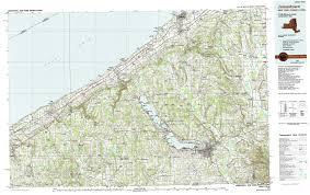 Jamestown Virginia Map New York Topo Maps Topographic Maps 1 100 000