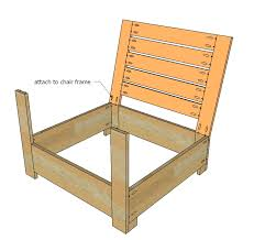 Outdoor Wood Chair Plans Free by Ana White Bristol Outdoor Lounge Chair Diy Projects