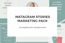 instagram stories for entrepreneurs templates creative market