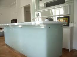bar a cuisine cuisine lineaquattro en verre blanc