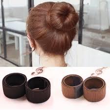 chignon maker aliexpress buy hair bun maker dish made synthetic wig