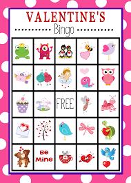 free printable s day bingo bingo free