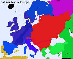 Red States Blue States Map by Nationstates Dispatch Map Of New Europe After The Nuclear War