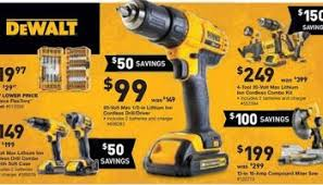 black friday sales at lowes and home depot home depot cyber monday 2016 dewalt cordless combo kits