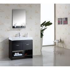 Espresso Vanity Bathroom Virtu Usa Ms 555 Gloria 36 Single Sink Bathroom Vanity In Espresso