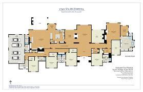 Casa Fortuna Floor Plan 5219 El Mirlo Rancho Santa Fe Ca 21 Photos Mls 170012478 Movoto